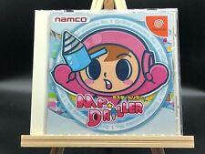 Mr. Driller w/spine (Sega Dreamcast, 2000) from japan