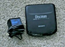 Sony Walkman Discman D-131 Compact CD Player Works with power adapter