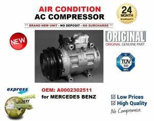 FOR MERCEDES ORIGINAL OEM: A0002302511 0002302511 AIR CONDITION AC COMPRESSOR