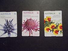 2015 Australia Self Adhesive Post Stamps~Wildflowers~Fine Used, UK Seller