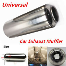 1PC Car Universal Exhaust Muffler Silencer Tornado Muffler 63mm/2.5'' 310mm Long