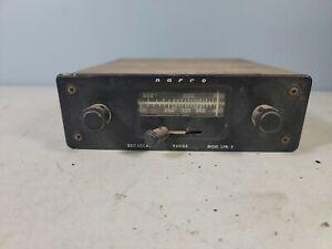 Vintage Narco  Airplane Radio LFR-3 low frequency radio