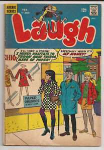 Laugh Comics #203 (1968) GD-
