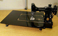 "FEATHERWEIGHT EXTENSION ARM TABLE 14"" X 18"" - Hi GLOSS BLACK ACRYLIC"