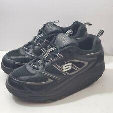 Skechers Shape Ups 11817 Womens Black Toning Walking Shoes Size 7.5