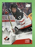 2015 Upper Deck Team Canada Juniors #90 Connor McDavid Edmonton Oilers Pre-RC