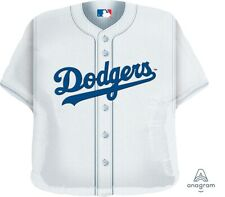 "Anagram International La Dodgers Jersey Foil Flat Party Mylar Balloons, 24"""