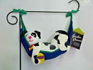 Dream on Puppy Garden Charms Flag by Premier. #9142, Inflate for 3D!