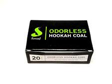 Fumari Odorless Hookah Charcoal Cubes 20pcs Box Shisha NEW Easy Quick Lite