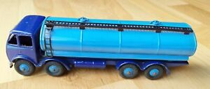 Dinky SuperToys Foden 14 Ton Tanker First Type Cab, Blue #504 Excellent Plus