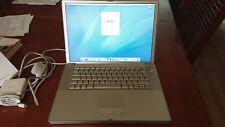 "Apple G4 Powerbook 15"" 1.67GHz, 2GB RAM, Laptop, A1138 M9969LLA High Res, 2005"