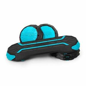 Yes4All Premium Aerobic Step Platform for Workouts and Step Training Teal/Black