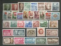 DDR 1953 postfrisch komplett ohne Dauerserien + Blöcke ca 115.-€