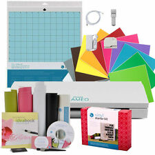 Silhouette Cameo 3 Bluetooth FREE Vinyl Starter Kit, ORACAL 631 & 651 Dust Cover