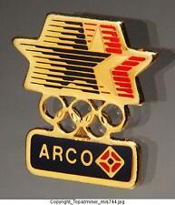 OLYMPIC PINS 1984 LOS ANGELES SPONSOR ARCO COMPANY LOGO