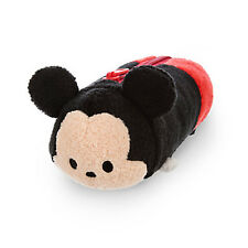 "NWT 8"" Disney Tsum Tsum Plush Doll Pencil Bag Case Mickey Mouse Stuffed Animal"