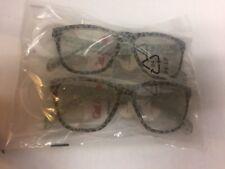 Cat & Jack Girls Accessories Fashion Eyeglasses, Leopard Print Lot 2 Pairs