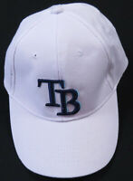 New Tampa Bay Rays MLB Baseball Snapback White Embroidered Cap Hat