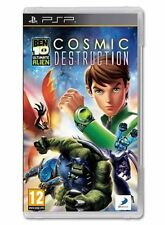 BEN 10 ULTIMATE ALIEN COSMIC DESTRUCTION SONY PSP GAME