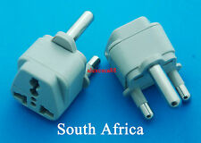 New Universal AU to South Africa Type M Travel Adaptor AC Power Plug USA EURO UK