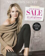 VICTORIA'S SECRET END OF SEASON SALE 2013 FASHION MODEL CATALOG LINGERIE, DRESS