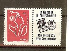 TIMBRES FRANCE PERSONNALISES 3741 DENTELE A PUB BOUTIQUE PETITE VIGNETTE