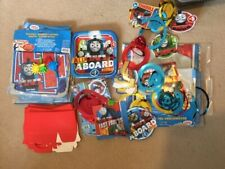 Thomas Tank party bundle banners wall decorating wrapping badges bags inserts