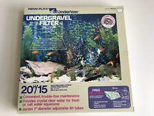 New Penn Plax Undertow Under Gravel 15/20H Gallon Fish Tank Aquariam Filter