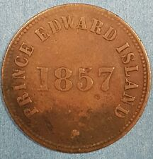 1857 VF Prince Edward Island Token   ID #94-21