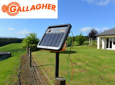 NEW Model Gallagher S100 Solar Powered Electric Fence Energiser 30km Single Wire