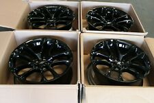 "2020 20 Charger Challenger Scatpack RT OEM Wheel Rim 20"" 20x9 6TE82TRMAA BLACK ~"