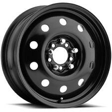 "4-AWC 70 Steel 15x6 5x100/5x115 +35mm Black Wheels Rims 15"" Inch"