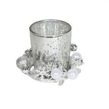 Kleine Deko-Kerzenständer & -Teelichthalter im Weihnachts-Stil aus Glas