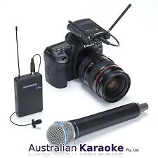 Samson Concert 88 Camera Combo Frequency-Agile UHF Wireless Microphone System