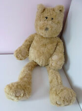 """Mamas And Papas M&P Large Brown Teddy Bear Brown Plush Soft Beanie Toy 22"""""""
