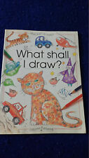 What Shall I Do Today? Ser.: What Shall I Draw? by Ray Gibson, A. Barlow and R.