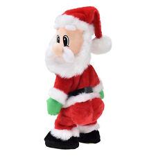 Bailando & CANTANDO Papá Noel 35cm Decoración De Navidad Navidad Santa Claus