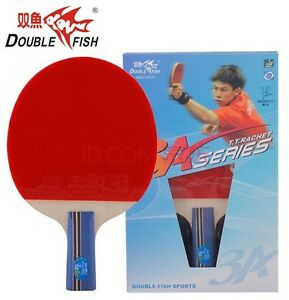 Double Fish 2015 Version Pro Wood Blade Table Tennis Racquet (Shakehand)