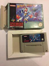 SUPER NINTENDO ENTERTAINMENT SYSTEM SNES cartouche Megaman X Famicom convertir PAL
