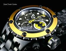Invicta RESERVE 52MM Specialty Subaqua BATMAN DC COMIC Swiss Quartz Black Watch