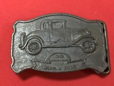 Model A Ford 50Th. Anniversary Belt Buckle,