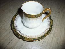 Ancien tasse à café porcelaine Limoges Bac  Périgault Old porcelain cup fin XIXe