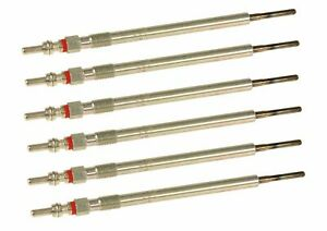 Mercedes / Dodge Sprinter 2500 3500 Diesel Glow Plug Set (6 Plugs) BOSCH OEM NEW