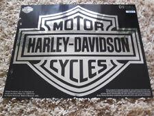 Harley Davidson Bar & Shield B&S Aufkleber Decal chrom XXL 50cm x 39cm  D3028C