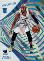 2018-19 Panini Revolution Lava #120 Jevon Carter RC Rookie 8/10 Grizzlies