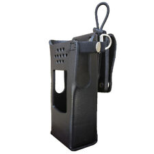GE7320-3AXD Hard Leather Holster for Harris XL-200 Radios