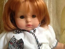 Beautiful Vintage Darling Gotz Puppet Baby Doll Strawberry Red Hair