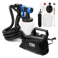 600w Electric Paint Spray Gun with 3 Spray Patterns,1000ml Container PROSTORMER