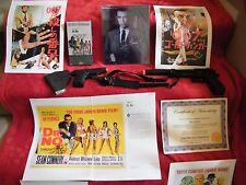 """James Bond """"Dr. No"""" Autograph Package (Sean Connery signature)"""
