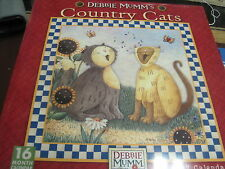 DEBBIE MUMM'S COUNTRY CATS 2017 16 MONTH WALL CALENDAR NEW SHRINK WRAPPED